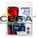 Memoria Flash 8GB Kit Kingston