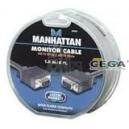 Cable de Monitor Svga 8MM HD15M-M 1.8M