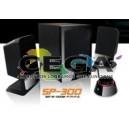 Bocinas Multimedia Con Subwoofer  1000w  2.1